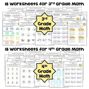 Summer Math BUNDLE