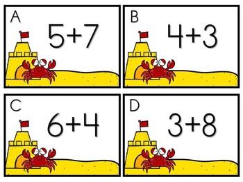 Summer Math Center - Crabby Addition