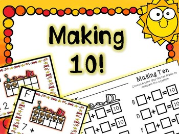 Summer Math Center - Making 10!!