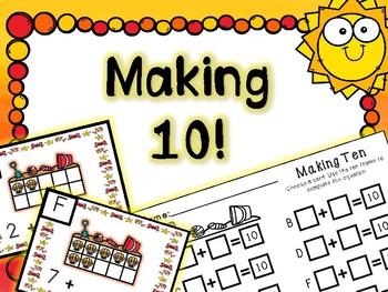 Summer Math Center - Making 10!!