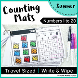 Summer Math Center - Numbers 1 to 20 : Counting Mats