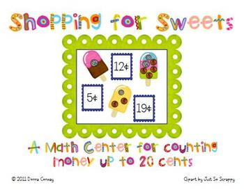 Summer Math Center - Shopping for Sweets