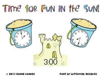 Summer Math Center - Time for Fun in the Sun