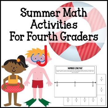 Summer Math Centers & Activities