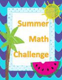 Summer Math Challenge