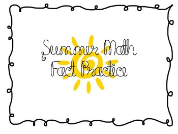 Summer Math Facts
