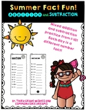 Summer Math Facts Practice: Addition and Subtraction