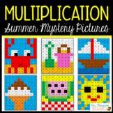 End of Year / Summer Math Activities - Multiplication Myst