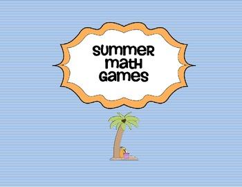 Summer Math Game