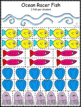 Summer Math Game for Prek and Kindergarten, FREEBIE