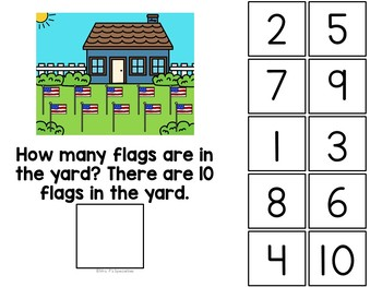 Fourth Of July Math Interactive Books