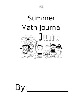 Summer Math Journal