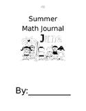 Summer Math Journal