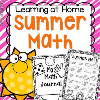 Summer Math Pack for Preschool, Pre-K, and Kindergarten