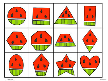 Summer Math Centers: Numbers 1-20