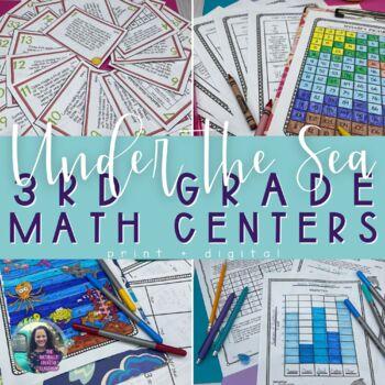 Summer Math:  Summer Math Hidden Pictures, Hidden Message & MORE!!!