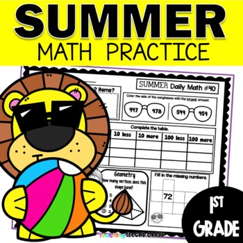 Summer Math Worksheets | 1st Grade
