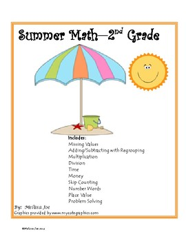 Summer Common Core Math Packet-2nd grade