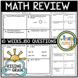 Summer Math Review (rising 5th grade)
