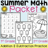 Summer Math Packet (Addition and Subtraction Math Facts) D