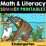 Summer Math & Literacy No-Prep {Kindergarten}
