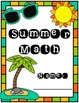 Summer Math Packet (Special Education)