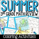 Summer Math Packet: Third Grade Math Review for Rising Fourth Graders
