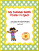 """Summer Math Project"""" A Beginning of the Year Activity"""