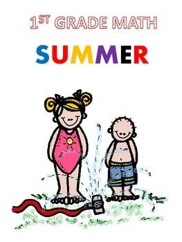 Summer Math Reinforcement Packet Students Entering into 1st Grade