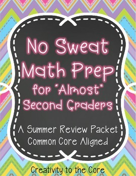 Summer Math Review - 1st-2nd Grade