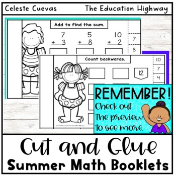 Summer Math Review Grade K