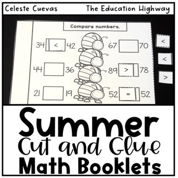 Summer Math Review | First Graders by The Education Highway | TpT
