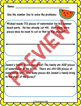 Summer Math Review: Multi-Digit Addition and Subtraction