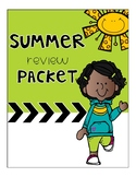 Summer Review Packet - Math Review Packet - Test Prep