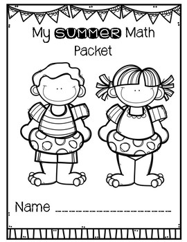 Summer Math Review Packet for Second Grade