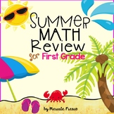 Summer Math Review for First Grade- Common Core Aligned