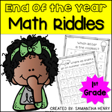End of the Year Math Riddles