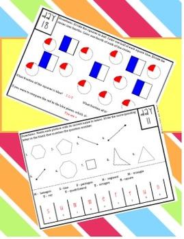 Summer Math Sizzler - Entering 6th Grade