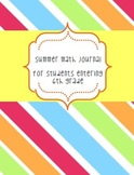 Summer Math Sizzler - Entering 6th Grade