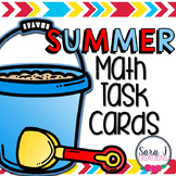 Summer Math Task Cards
