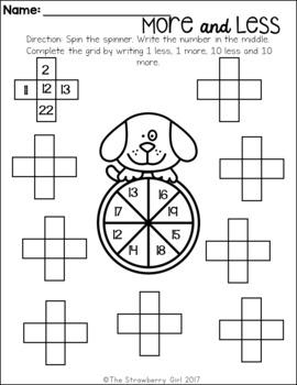 Kindergarten Math Worksheets - Summer