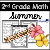Summer Math Worksheets 2nd Grade Common Core
