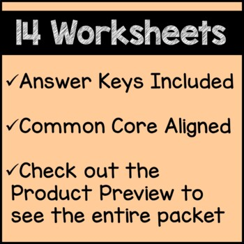 Summer Math Worksheets 4th Grade Common Core
