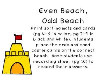 Summer Math and ELA Centers - First Grade
