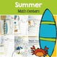 Summer Math and Literacy Centers Bundle