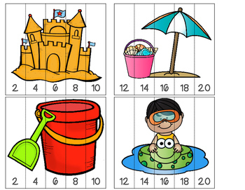 Summer Math and Literacy Centers {Bundled}