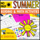 Summer Math and Reading Activities