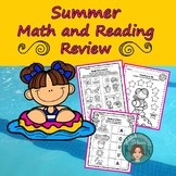 #christmasinjuly Summer Math and Reading Review