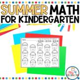 Summer Math for Kindergarten