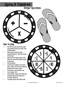Summer Math Puzzles for Middle School